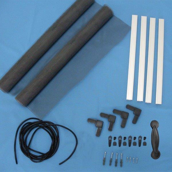 Componentes para tela mosquiteira