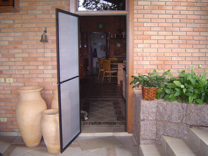 Tela contra mosquito para porta